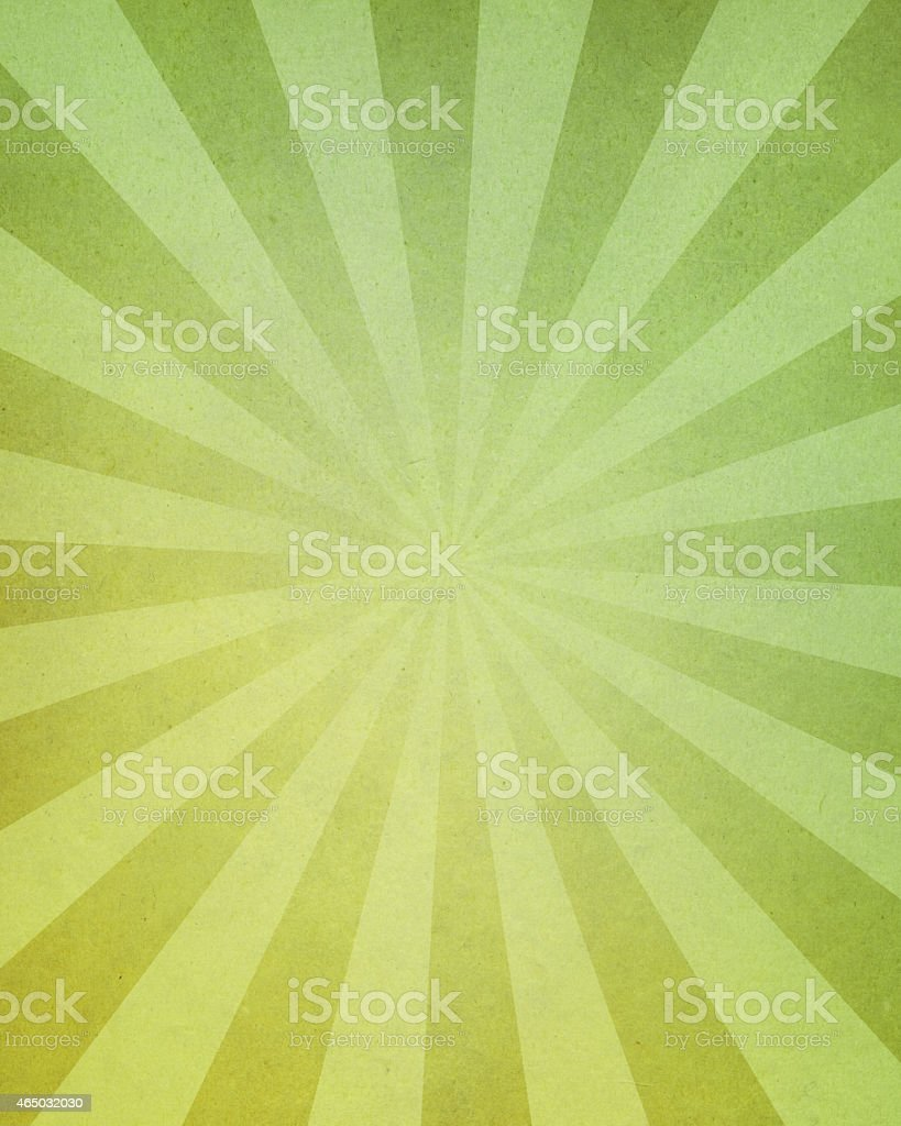 distressed green paper with light rays stock photo