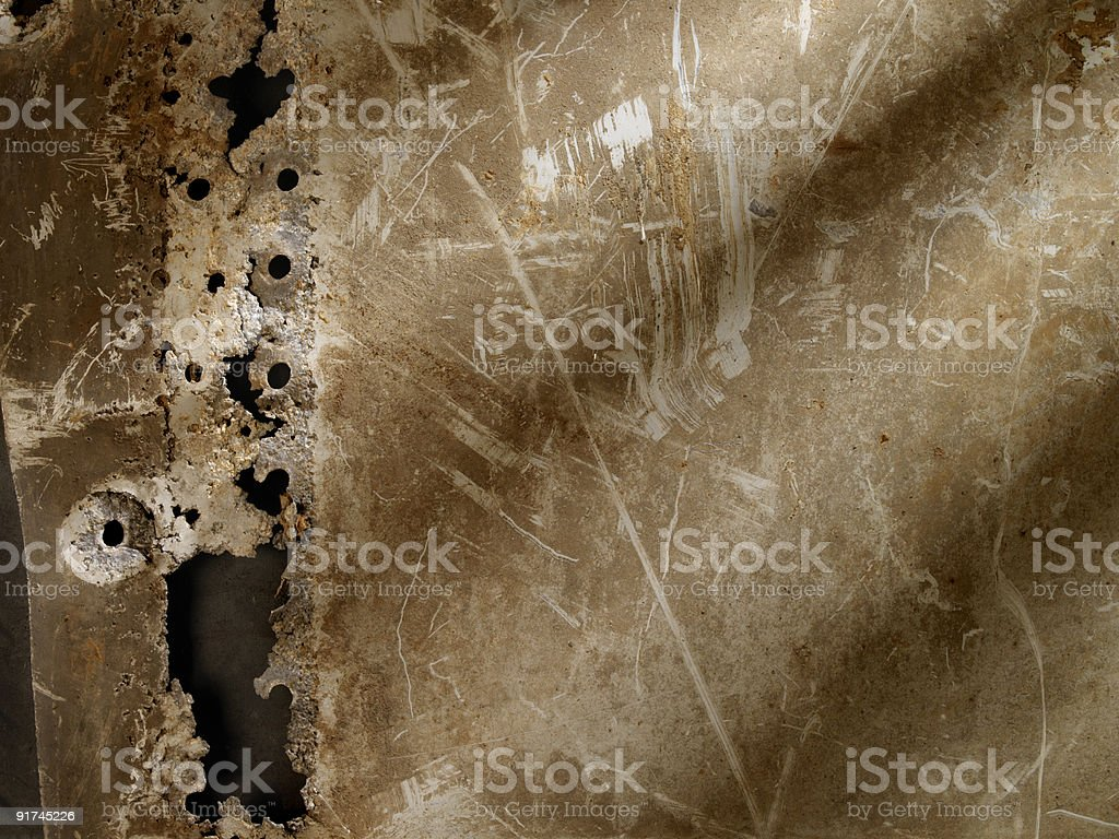 Distressed Metal Background stock photo