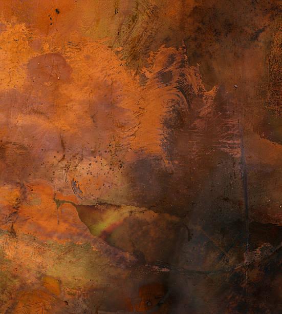 superficie di sfondo texture metallo invecchiato - acquaforte foto e immagini stock