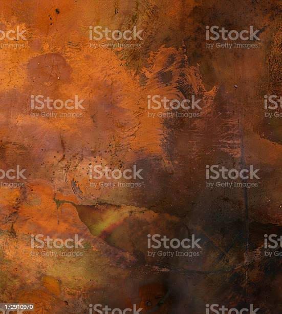 Distressed Metal Surface Background Texture Stock Photo - Download Image Now