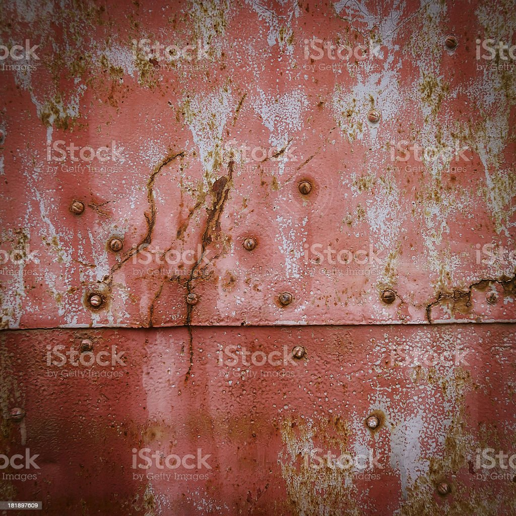 distressed metal surface royalty-free stock photo