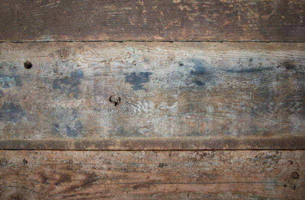 Distressed old boards stock photo