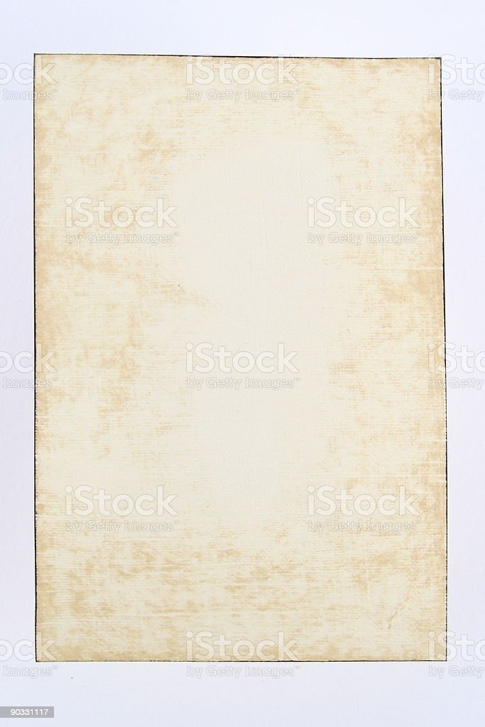 Distressed Paper Grunge stock photo