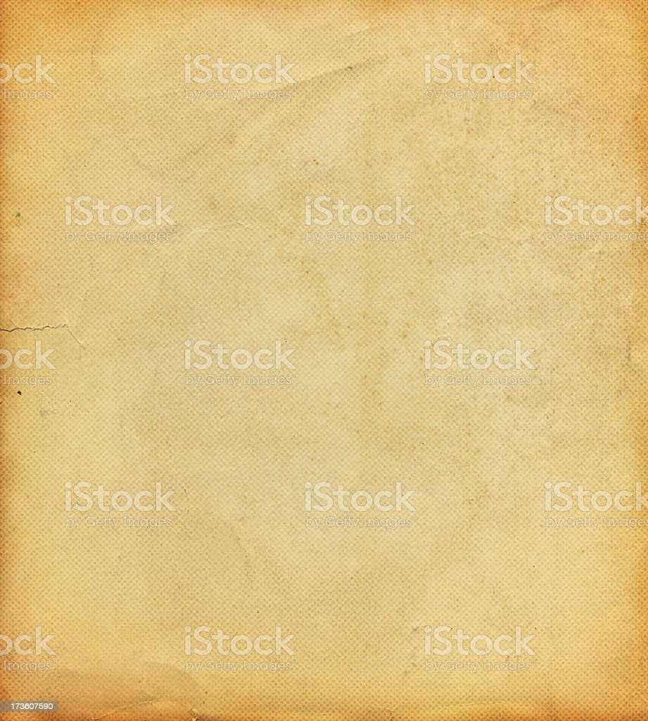 distressed paper with halftone pattern This high resolution worn paper stock photo is ideal for backgrounds, textures, prints, websites and any other distressed grunge style art image uses! Antique Stock Photo