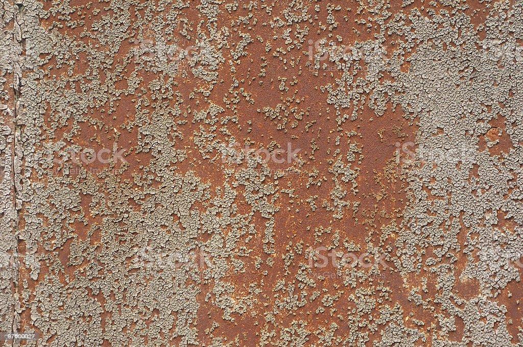 Rusty en métal vieilli photo libre de droits