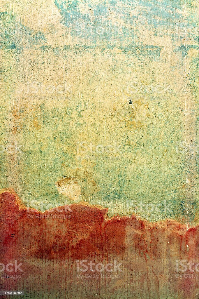 Distressed Wall Background stock photo