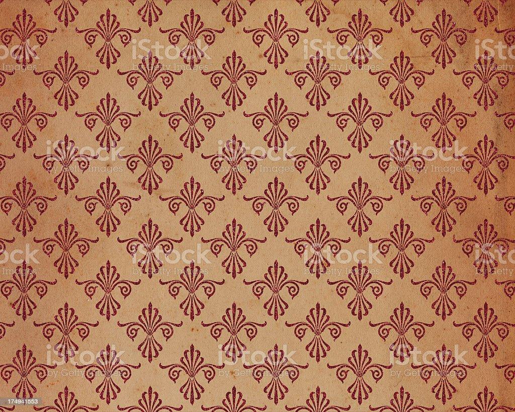 distressed wallpaper pattern royalty-free stock photo