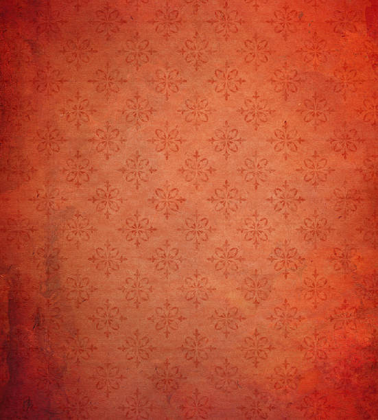tapete muster in used-optik - sammelalbum wandkunst stock-fotos und bilder