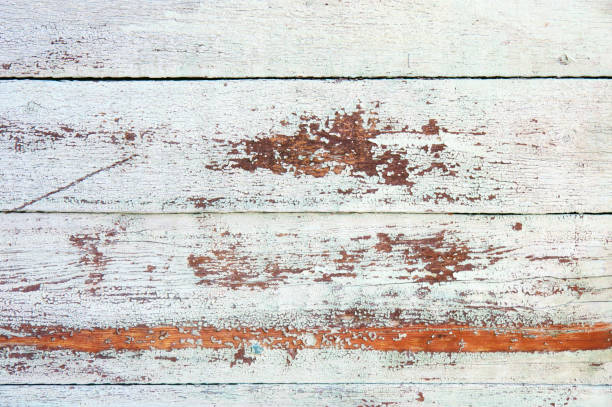 Distressed Weathered Wood Stock Photo