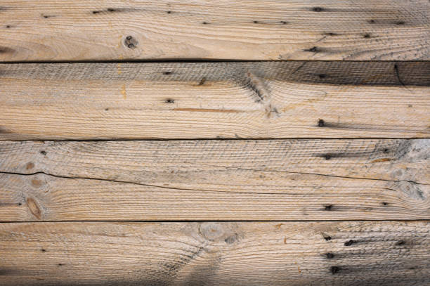 distressed weathered wood texture - knotted wood stock pictures, royalty-free photos & images