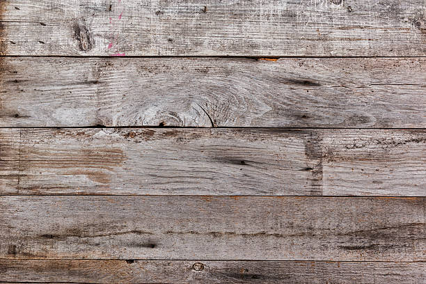 Distressed Wood Plank Background stock photo