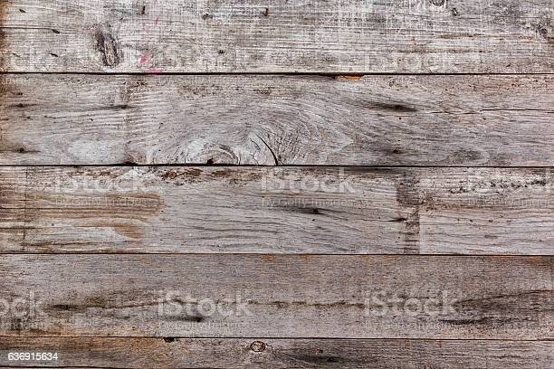 Distressed Wood Plank Background Stock Photo - Download Image Now