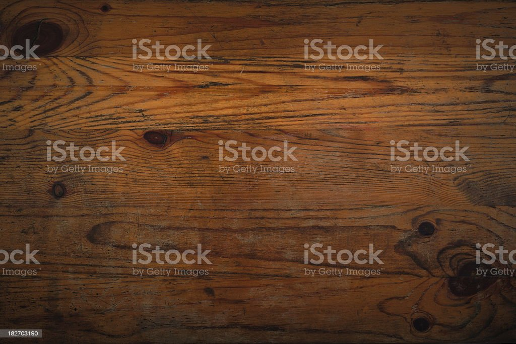 Distressed Wooden Background stock photo