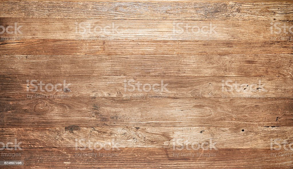 Distressed wooden boards - Photo
