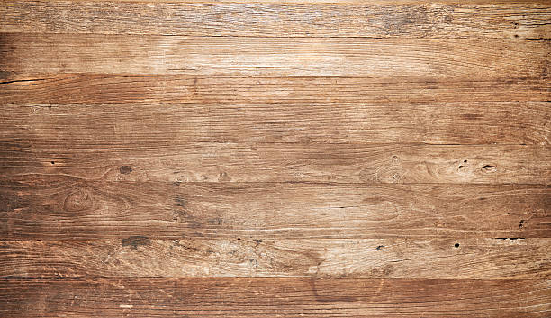 Distressed wooden boards - foto stock