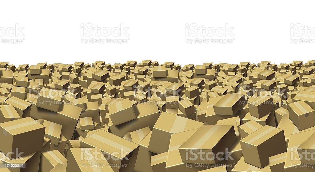 Distribution And Shipping royalty-free stock photo