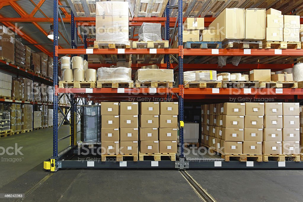 Distribution centre stock photo