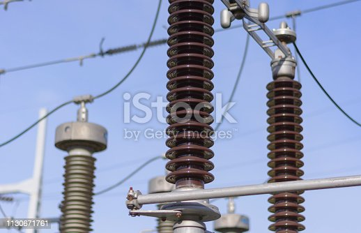 Equipment in high voltage electric power station