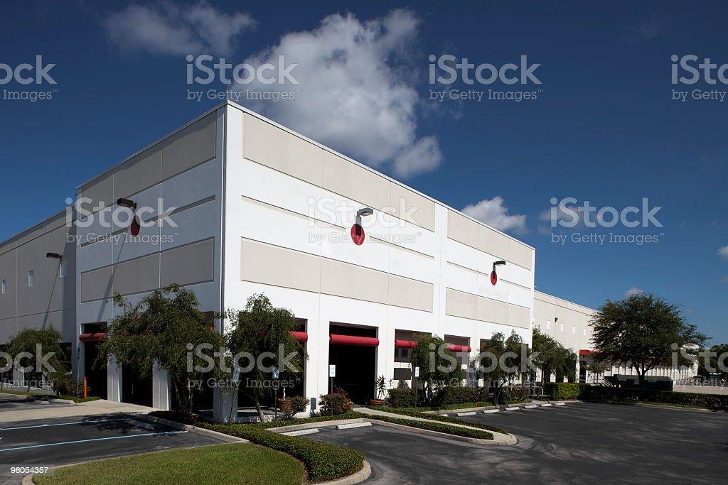 Distribution Warehouse royalty-free stock photo