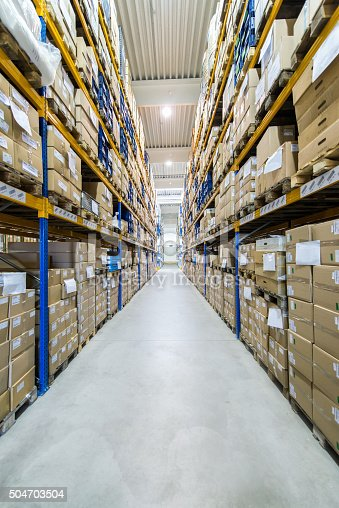 513948652 istock photo Distribution warehouse/center 504703504