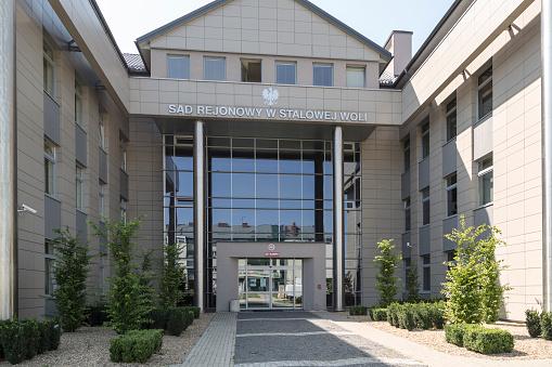 Amtsgericht In Stalowa Wola Polen Stockfoto und mehr Bilder von Architektur