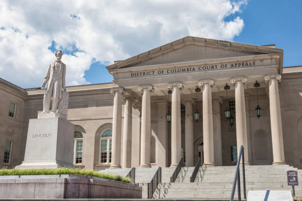 District of Columbia Court of Appeals Building stock photo