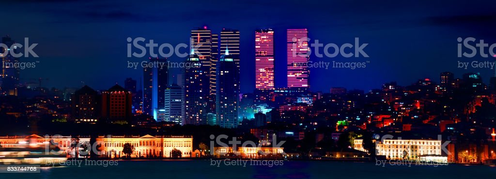 District of Istanbul stock photo