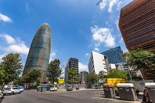 District of Poblenou in Barcelona