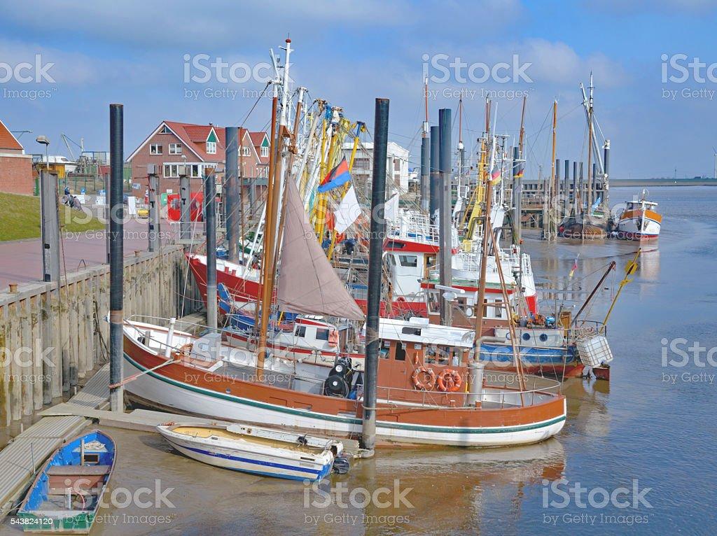 Ditzum,East Frisia,North Sea,Germany stock photo