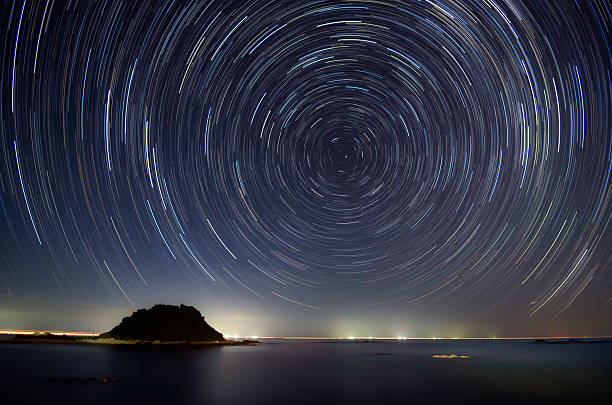 Diurnal motion japan north star stock pictures, royalty-free photos & images
