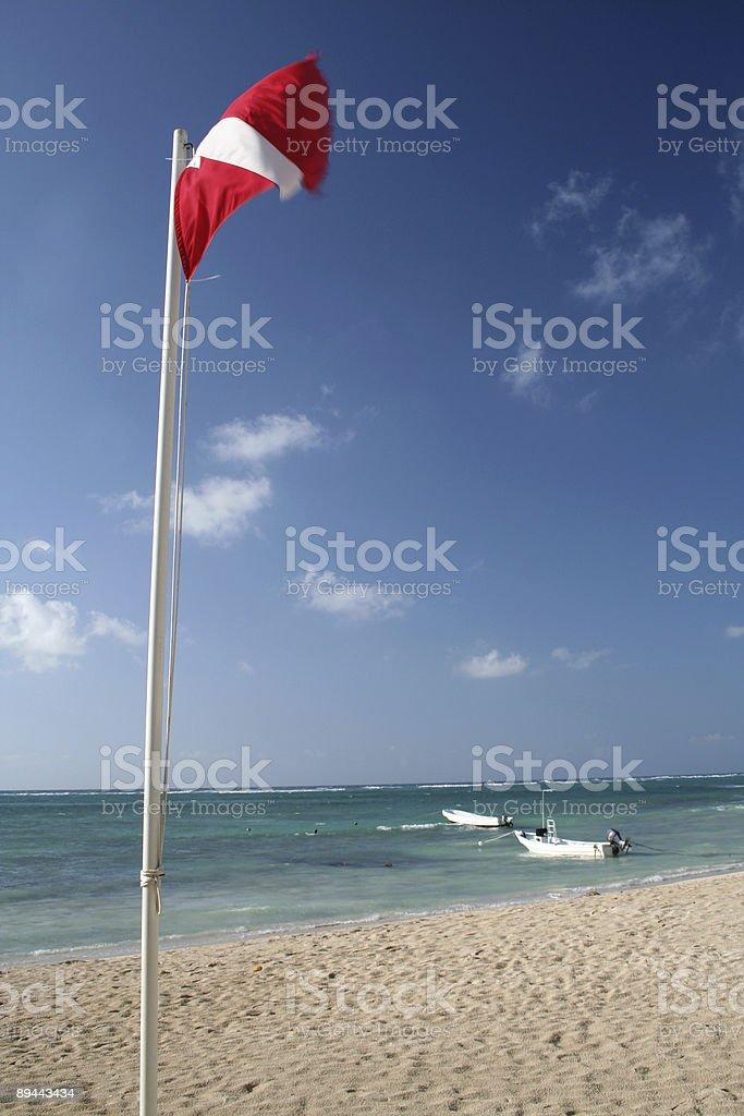 Dive Beach royalty-free stock photo