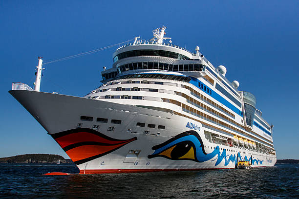 AIDA Dive Cruise Ship in Bar Harbor, USA, 2015 – Foto