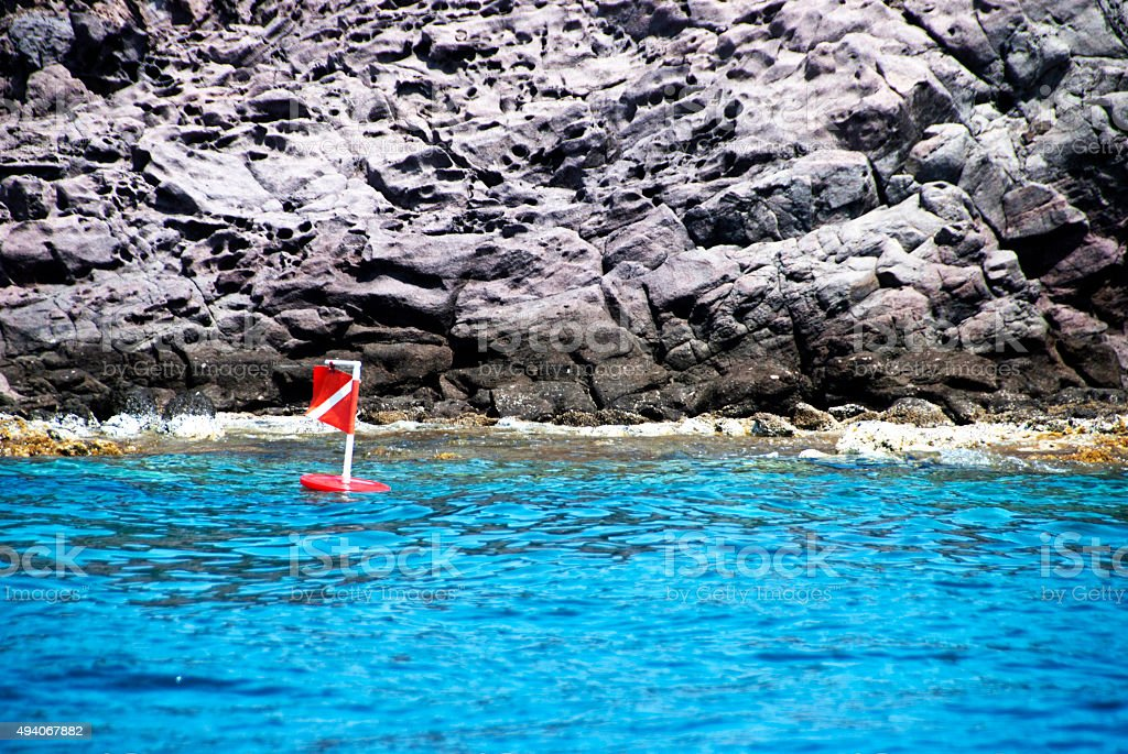 Image result for dive flag in water