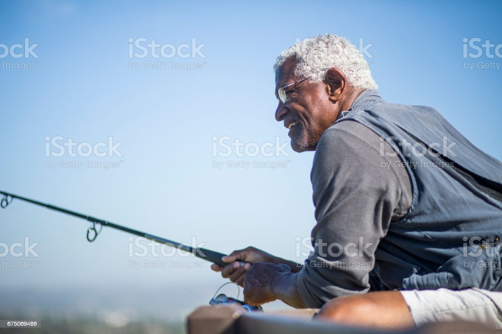 Diverse Active Seniors stock photo