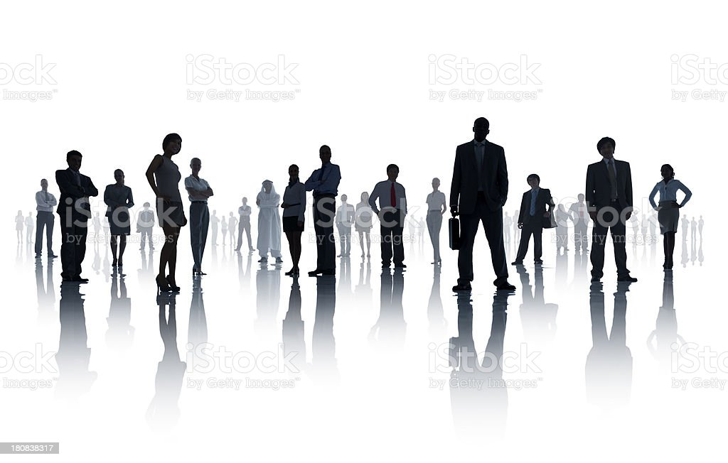 Diverse Business People royalty-free stock photo