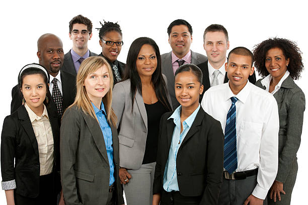 diverse business people - professional sport stock photos and pictures