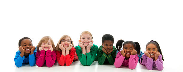 diverse children - preschool student stock photos and pictures