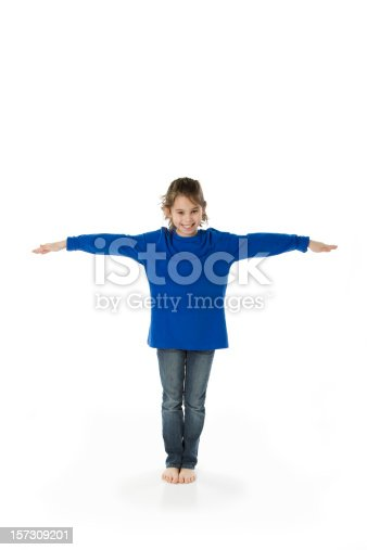 istock Diverse Childrens Font Letter T Blue Use to Make Words 157309201