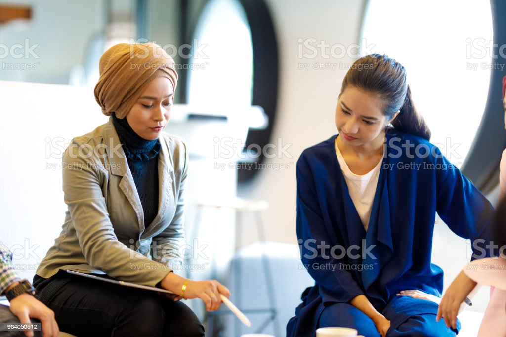 Diverse Creative Team Discussing Ideas - Royalty-free Adult Stock Photo
