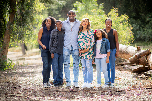 Diverse Family Photo Stock Photo - Download Image Now