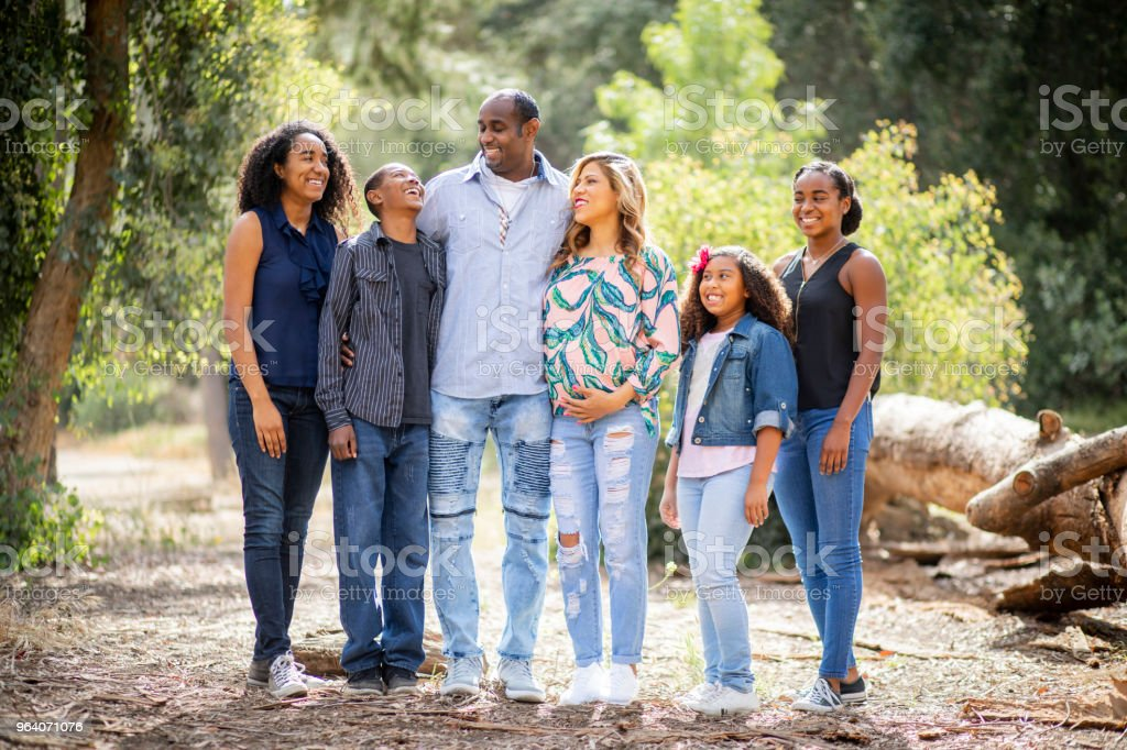 Diverse Family Photo - Royalty-free Adult Stock Photo