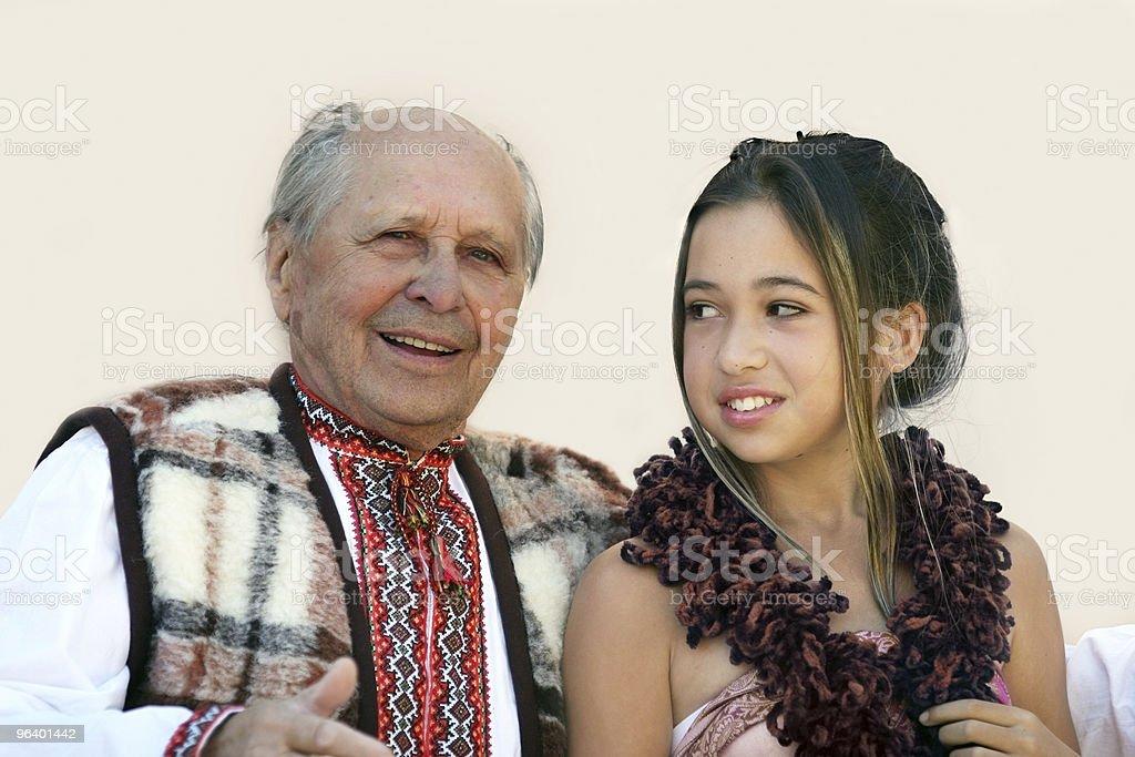 Diverse family - Royalty-free Active Seniors Stock Photo