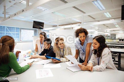 istock Diverse Females Involved in STEM 1044232206