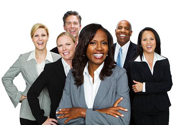 große gruppe von business personen - mitarbeiterengagement stock-fotos und bilder