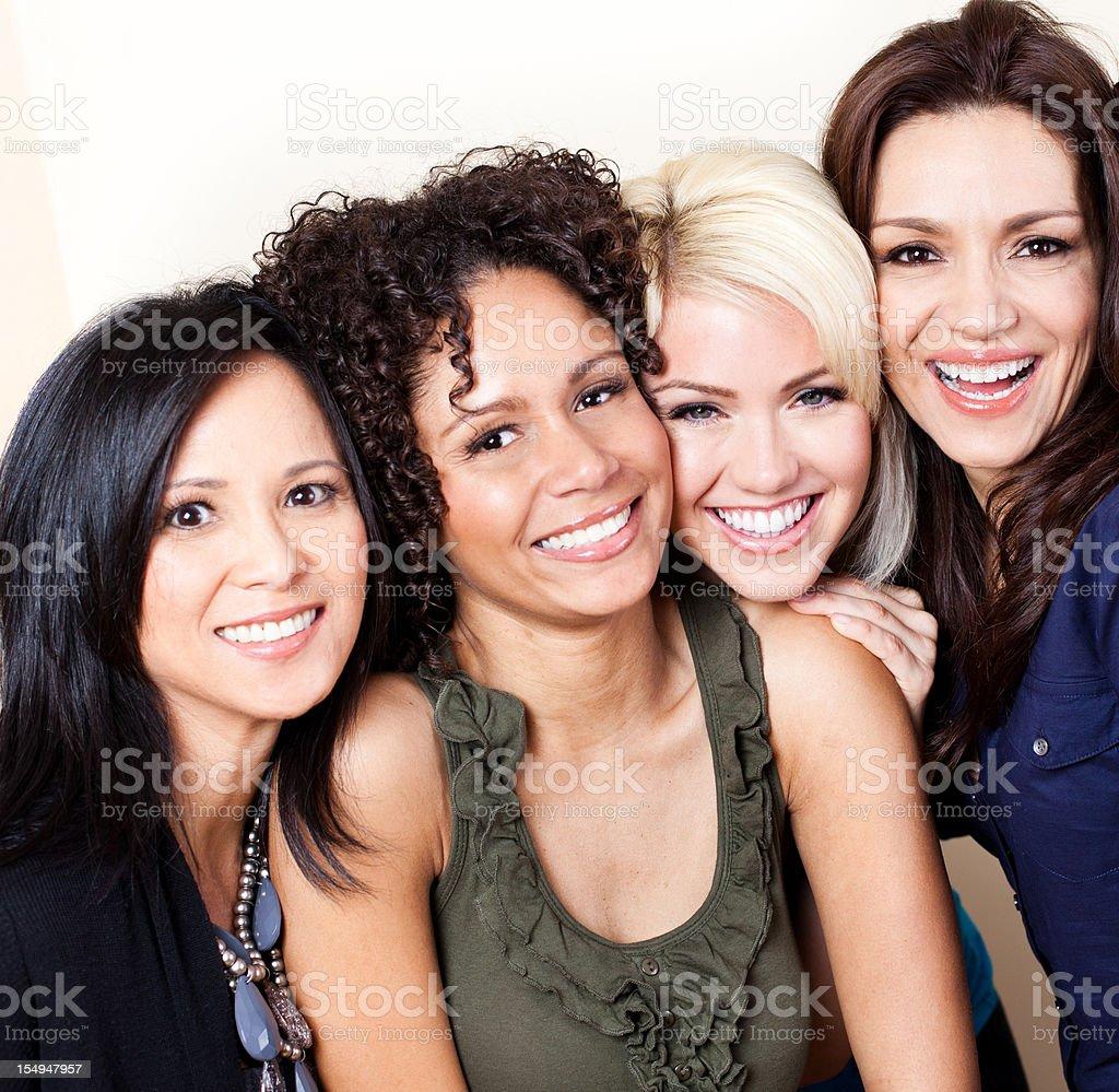 Mature mixed group