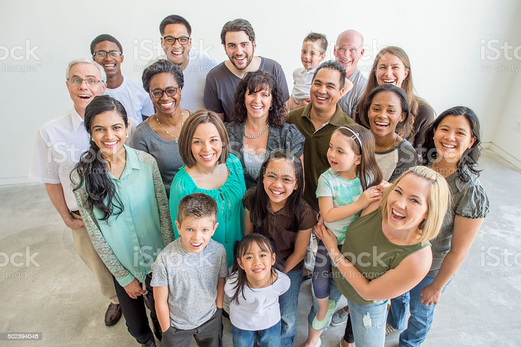 Diverse Group of Individuals stock photo