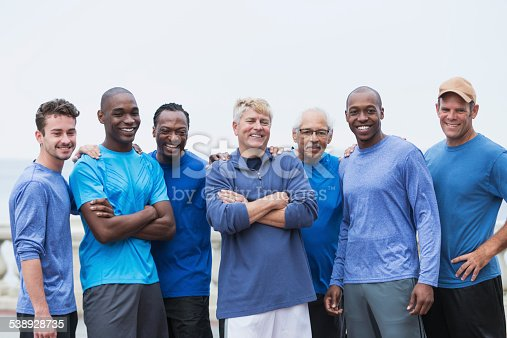 istock Diverse group of men standing together 538928735