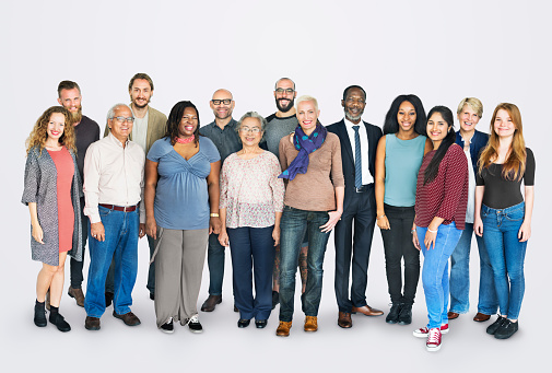 istock Diverse Group of People Community Togetherness Concept 592375024