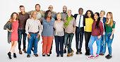 多様な人々の集まりコミュニティトゥギャザネスのコンセプト