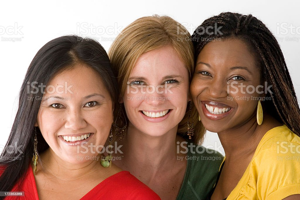 Diverse group of people royalty-free stock photo